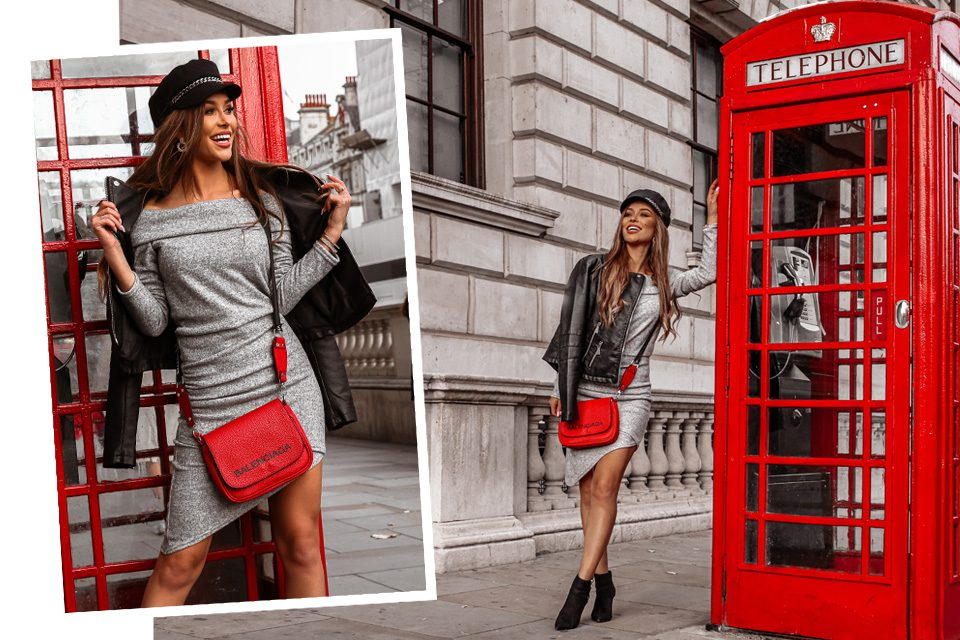Sukienka sweterkowa – w dwóch ciepłych stylizacjach